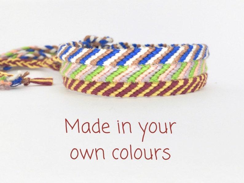 Custom Anklet  Narrow Ankle Bracelet  Friendship Anklet  image 0