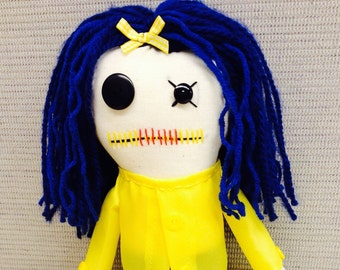 Coraline - Inspired ~ Creepy n Cute Zombie  Doll (D)