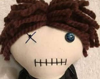 Aaron - Inspired by TWD - Creepy n Cute Zombie Doll (P)