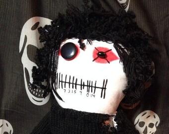 OhGr - Inspired by Kevin Ogilvie-Nivek Ogre of Skinny Puppy - Creepy n Cute Zombie Doll (D)