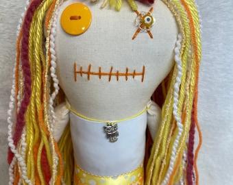 "Creepy n Cute Zombie Doll ""Rae of Sunshine"" (D)"