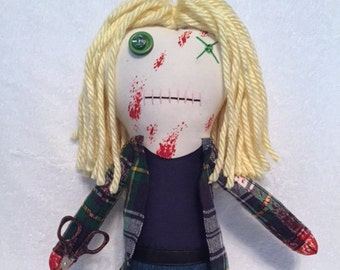 """Jesse - Inspired by TWD - Creepy n Cute Zombie Doll - """""""" - Inspired by TWD (P)"""