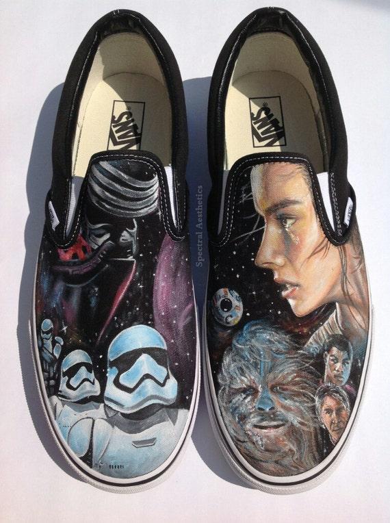Custom Painted Star Wars Rey and Kylo