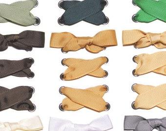 "THE SHOELACES SHOP-5/8"" Grosgrain Ribbon Shoelaces, Grosgrain Shoe Laces, Grosgrain Shoelaces, Shoe Laces, ""With The Grain (5/8 Inch)"""