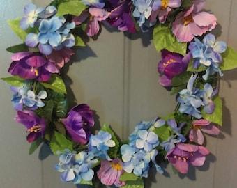 Lavender Daze Wreath