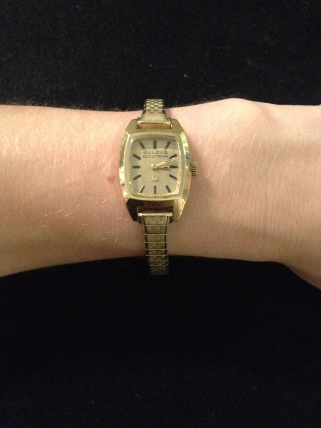 Vintage 10K R.G.P. Bulova Accutron muñeca reloj trabajo | Etsy