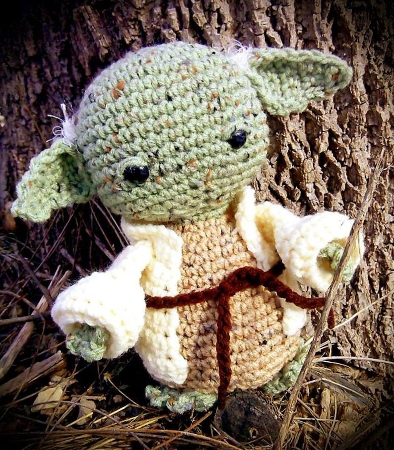 Star Wars Inspired Yoda CROCHET PATTERN PDF image 0