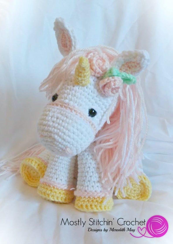 Unicorn CROCHET PATTERN: PDF image 0