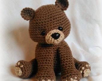 Bear Crochet Pattern; PDF; Black Bear, Brown Bear, Polar Bear