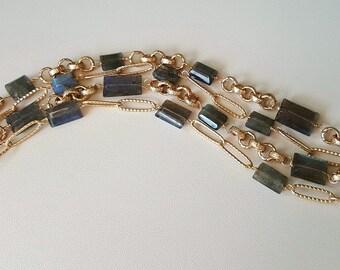 Labradorite Multi-Strand Bracelet