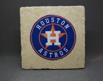 Houston Astros Coaster (4-Pack)
