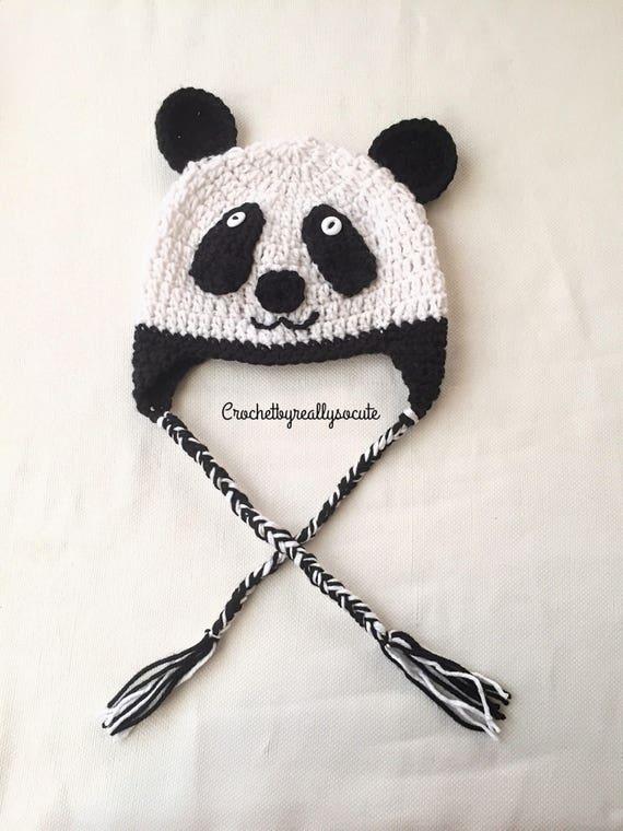 Panda bambino beanie panda bear berretto berretto con  dccd94f6c5a9