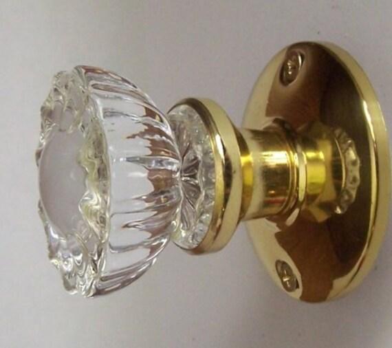 Crystal Antique Replica Door Knobs Available In French Door | Etsy