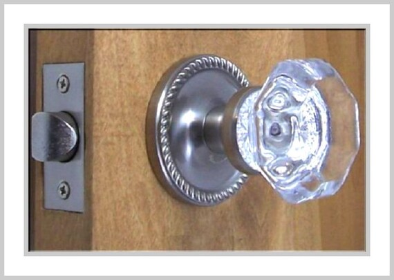 Superieur CRYSTAL DOOR KNOBS 8 Point High End 24% Crystal Made By | Etsy