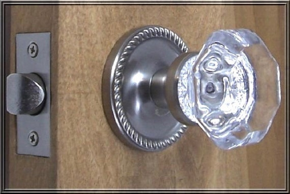 Superbe CRYSTAL DOOR KNOBS High End Handmade By Rousso Designs | Etsy