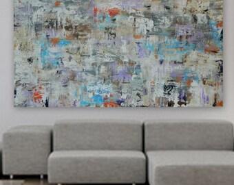 Huge XXl XL Large Original Modern Minimal Abstract Painting Wall art home decor hotel office decoration