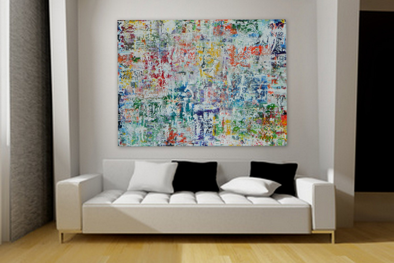 Large Original Acrylic Painting By Marcy Chapman Wall Art