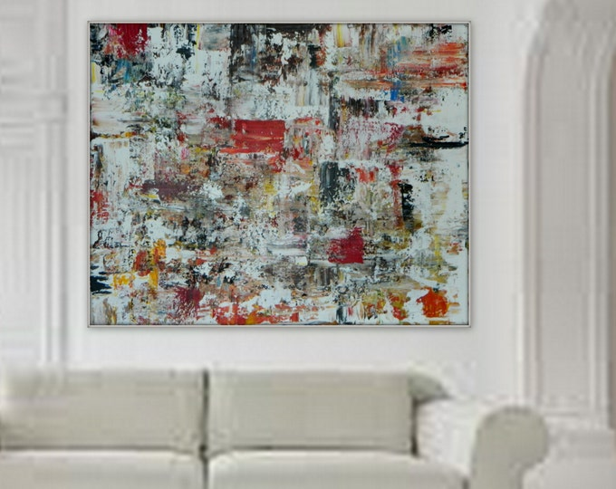 Sample XXL, HUGE Large  Original Modern Contemporary Abstract wall art/ decor painting on canvas