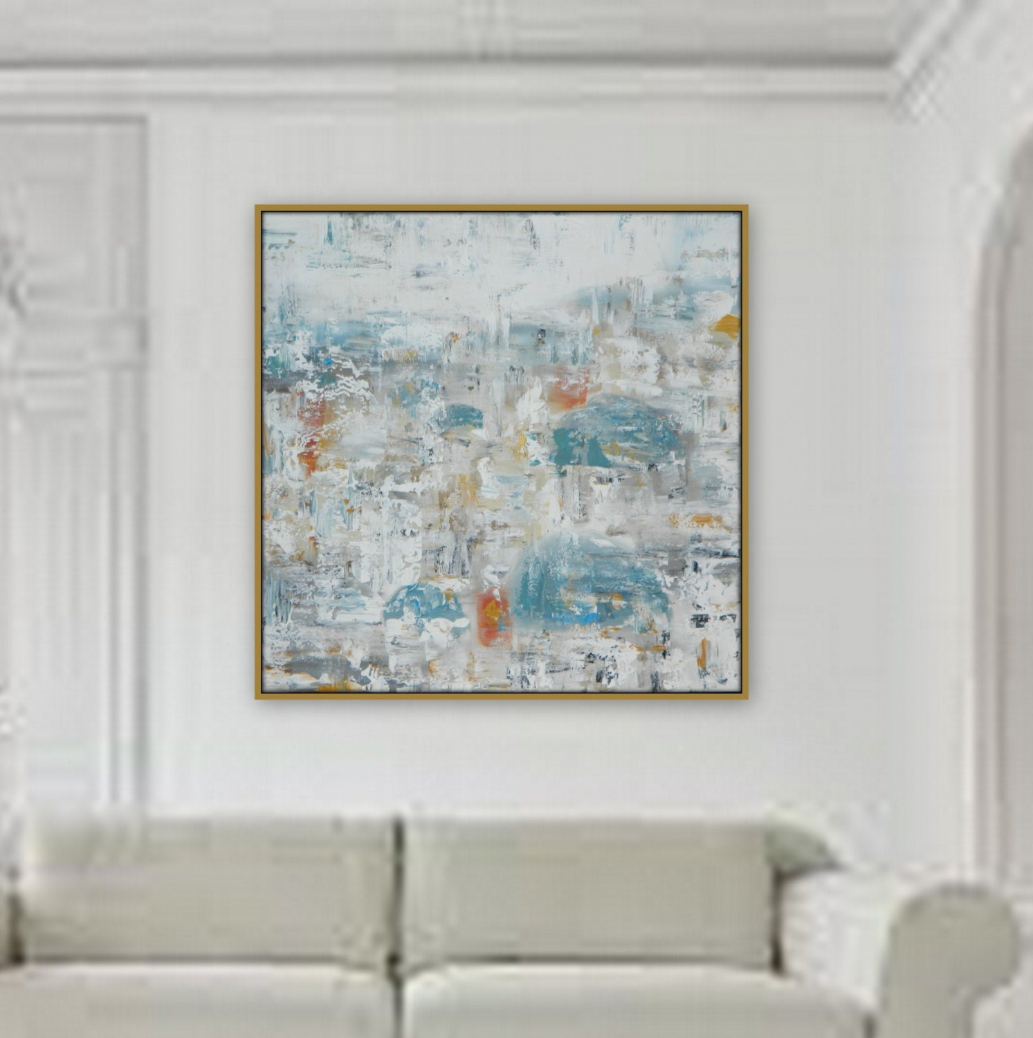 36 X 36 Extra Large Painting Modern Xl Large Abstract