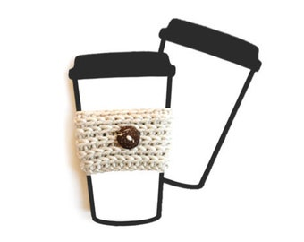 Printable Coffee To Go Cup Display Card for Cup Cozy