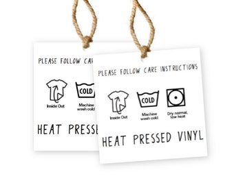 heat pressed vinyl care instructions stickers for small business 15 inch stickers for avery template 22805