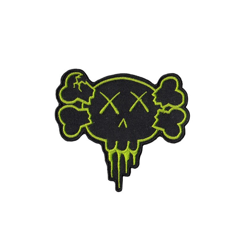Creeps Skull Patch  3 inches image 1
