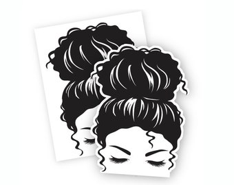 Printable Cury Hair Display Card for Earmuff Headbands