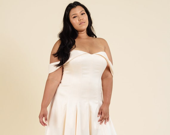 Saccharine Gown | Plus Size Wedding or Formal Evening Dress