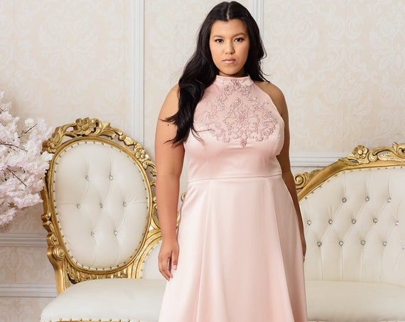 Essence Gown | Plus Size Wedding or Formal Evening Dress