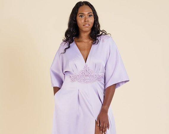 Regal Gown | Plus Size Wedding or Formal Evening Dress