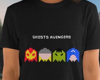 Pac man ghost shirt   Etsy
