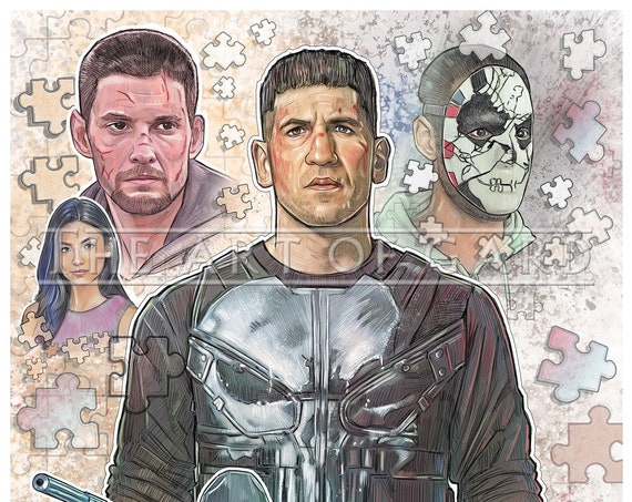 The Punisher Season 2 Collage