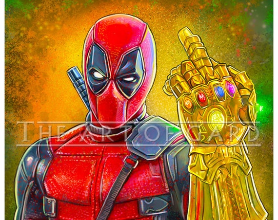 Deadpool Infinity Gauntlet