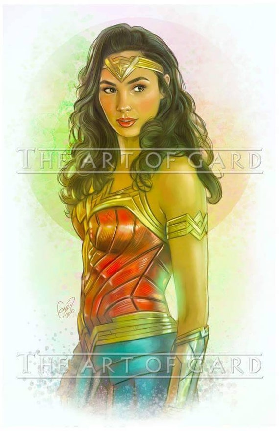 Wonder Woman 1984 Art Print