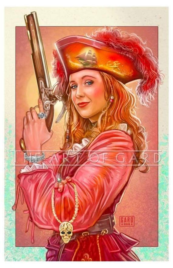 Redd the Pirate Lady