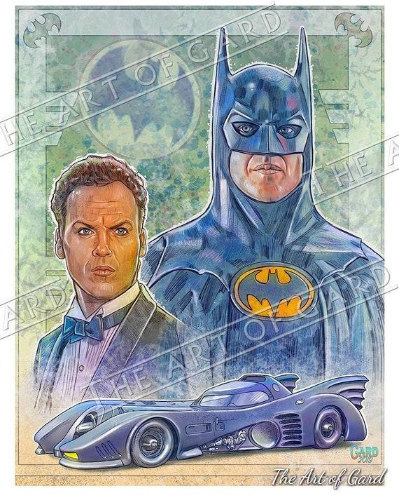 Batman 1989 Artist's Print