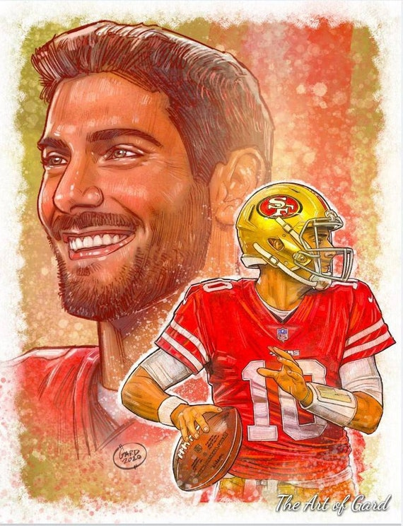 Jimmy Garoppolo Art Print