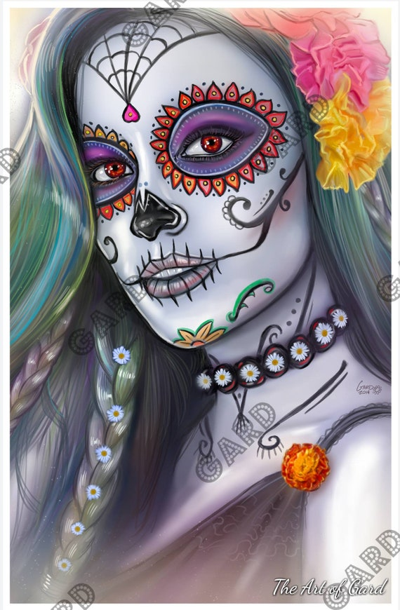 Sugar Skull Print
