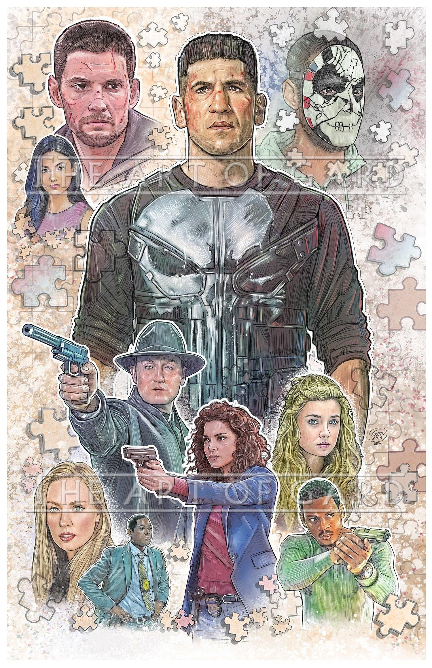 The Punisher Season 2 Collage