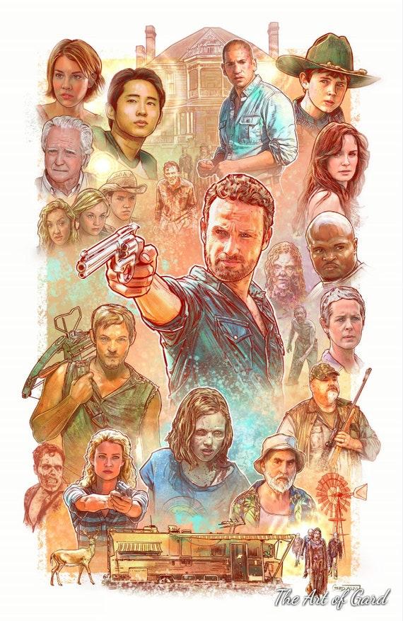 The Walking Dead Season 2 Art Print