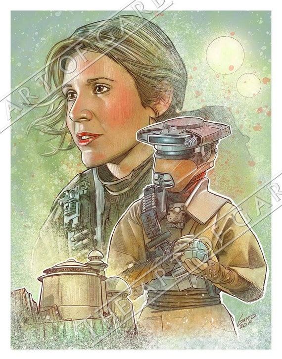 Princess Leia as Boushh