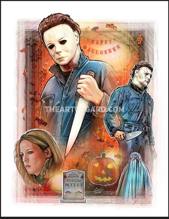Halloween Movie 1978 Art Print