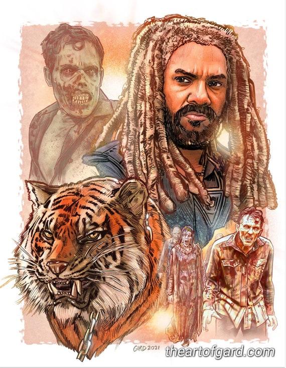 King Ezekiel 11X14 Art Print