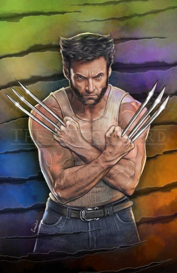 Wolverine (Hugh Jackman) 11X17 Artist's Print