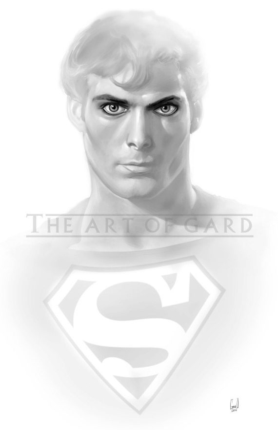 Superman (Christopher Reeve) 11X17 Artist's Print