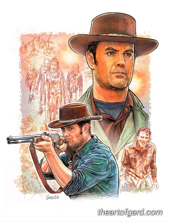 "John Dorie from Fear The Walking Dead 11""X14"" Art Print"