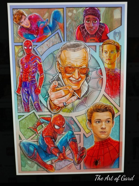 Spiderman Stan Lee Tribute