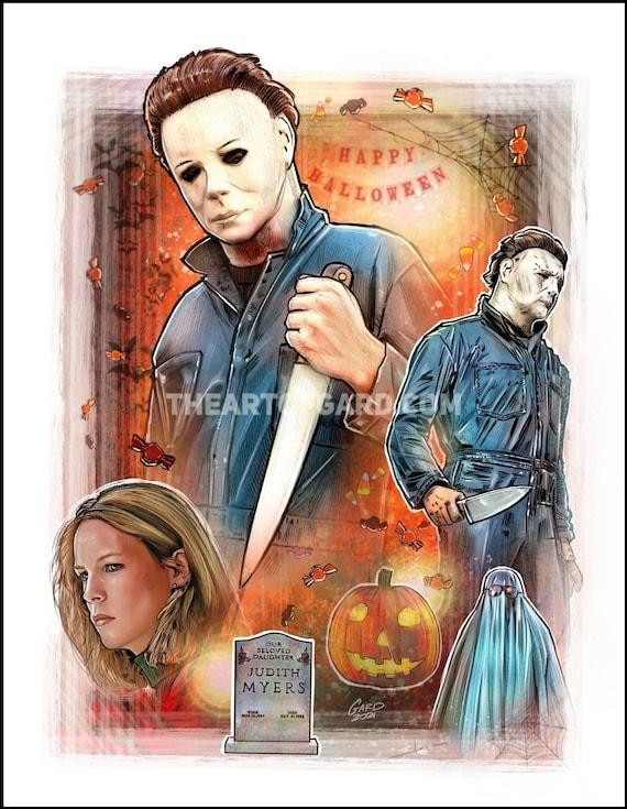 Halloween 1978 11X14 Art Print
