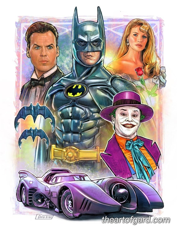 Batman 1989 11X14 Art Print