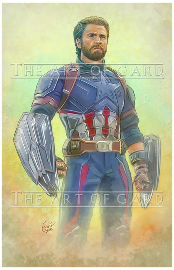 Captain America Avenvers Infinity War
